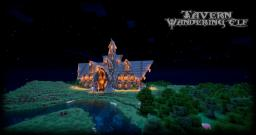 "Tavern ""Wandering Elf"" Minecraft Project"