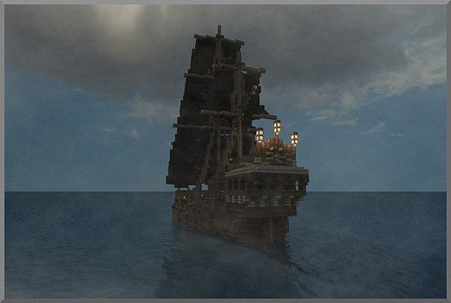 The Black Pearl' - Pirates of the Caribbean Minecraft Project