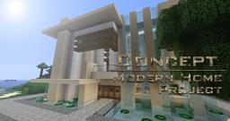 Concept - The Modern Home Project Minecraft Map & Project