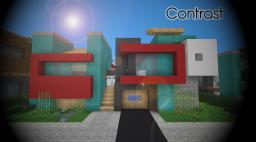 [Modern] Contrast - Luxury Home (Emosnail, Blockzore and Olenormann Collab) Minecraft Project