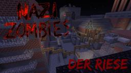 Working Nazi zombies Der Riese map in minecraft,no mods needed Minecraft Project