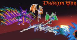 Dragon Build-off (Alec -Vs- John) Minecraft