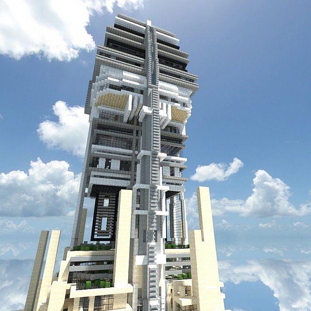 skyscraper hestia skyscraper minecraft project