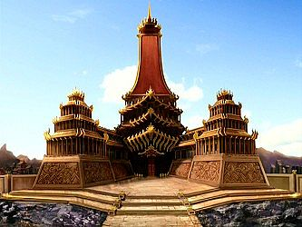 The Fire Nation Royal Palace Outdated Minecraft Project