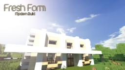 [Modern] Fresh Form - Luxury Home Minecraft Map & Project