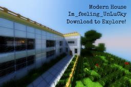 Modern House - UnLuCkY Minecraft Map & Project