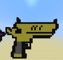 Golden Gun Minecraft Map & Project