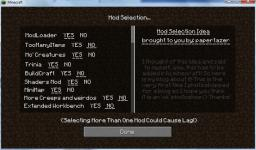 Mod Selection! [minedeas] Minecraft Blog