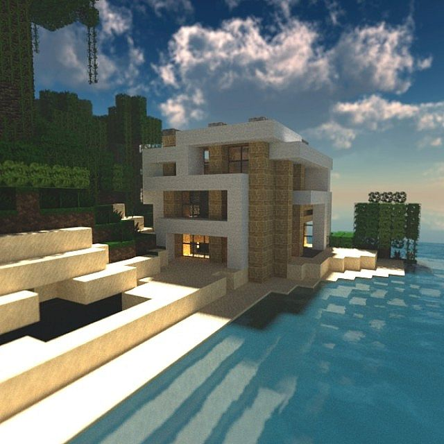 Domus Gerit (Modern House #4) [Now Furnished] Minecraft