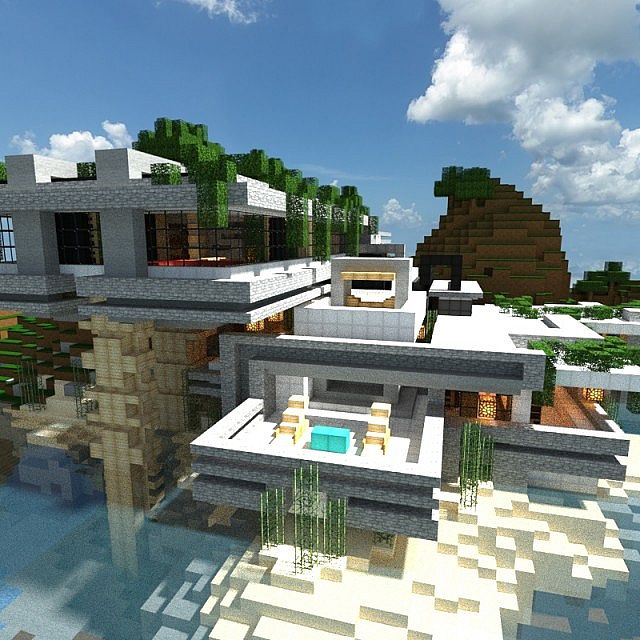 house denys residence minecraft project