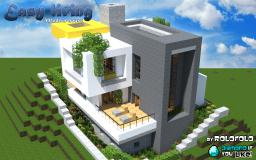 [Modern] easy living home (at WOK) Minecraft Project