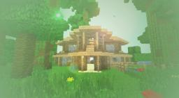 Minecraft Jungle Survival Island Includes Your Own Home And Ores Minecraft Map & Project