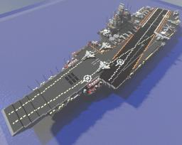 Ulyanovsk class aircraft carrier Minecraft Map & Project