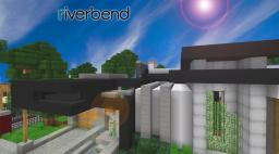 [Modern] Riverbend - Luxury Lakeside Home Minecraft Map & Project