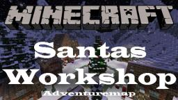 Santas Workshop - Aventure/puzzle Map Minecraft