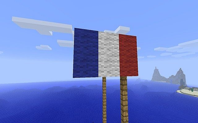 French Flag (Couldn't make American)