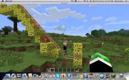 Best Roller Coaster Ever Minecraft Map & Project