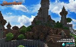 Medieval small Castle   download (at Sharthur city) Minecraft Map & Project