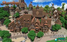 Rich Uptown Medieval Shopping Center Minecraft Project