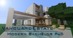 Vanguard Estate -The Modern Bachelor Pad Minecraft Map & Project