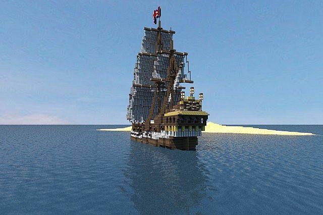 FAKTA!!!! Serba Serbi Black Pearl sebuah kapal kutukan milik Jack Sparrow