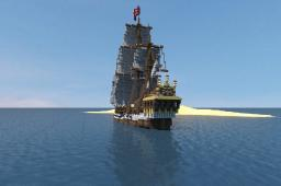 'Wicked Wench' (a.k.a Black Pearl) - Pirates of the Caribbean Minecraft Map & Project
