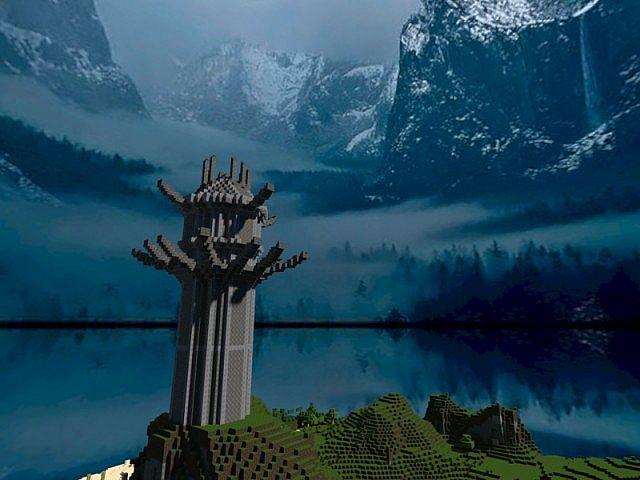 Xardas Tower Minecraft Project