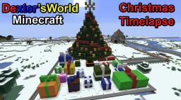 Timelapse Christmas Tree Minecraft Map & Project