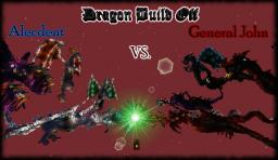 Dragon Battle: General John vs. Alecdent Minecraft Map & Project