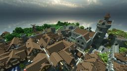 Huge(and yet unnamed) medieval world - Over 10 great builds included! Minecraft Map & Project
