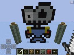 Sir Daniel Fortesque Pixel Art ( Medievil Contribute ) Minecraft Map & Project