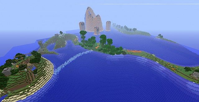 Island Survival Map Just For Fun Minecraft Project