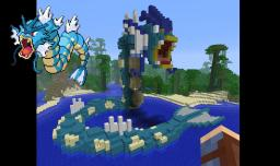 Giant Gyarados Minecraft Map & Project