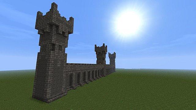 Castle Walls Minecraft minecraft walls — crafthubs
