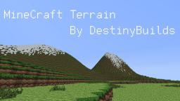 Custom Terrain Minecraft Map & Project
