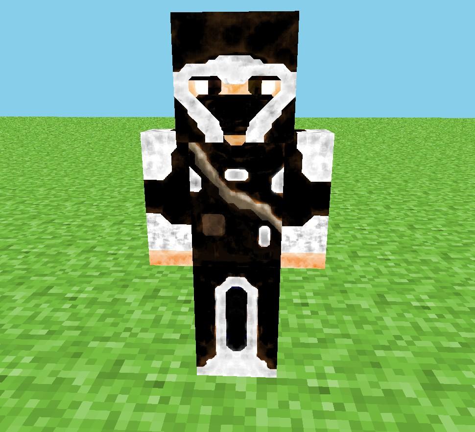 Minecraft Hd Skin 8 X 8 - X Gojek
