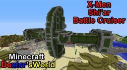 Minecraft X-Men Shi'ar Battle Cruiser Minecraft Map & Project