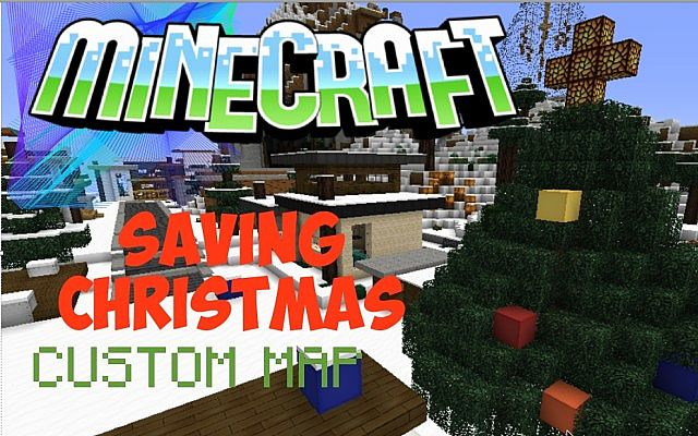 Christmas Map - SAVING CHRISTMAS [ epic custom map ] Minecraft Project