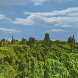 My Custom Heightmap Minecraft Map & Project
