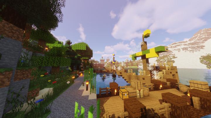 The Lullin docks