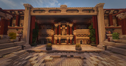 Ancient Roman Theater - Conquest Reforged Minecraft Map & Project