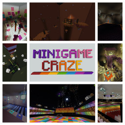 Minigame Craze by Cooneybug (for v1.14.4) Minecraft Map & Project