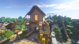Torque Theme Park Java Edition Minecraft Map & Project