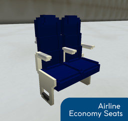 Airline Economy Seats Minecraft Map & Project