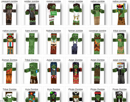 Mobs+ (Additional/Randomized Mob Textures!) Minecraft Texture Pack