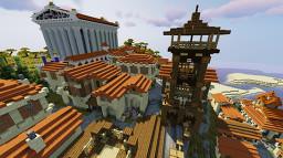 Roman City Minecraft Map & Project