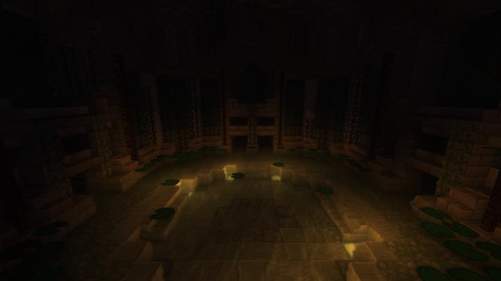 Sub-Basement Atrium.