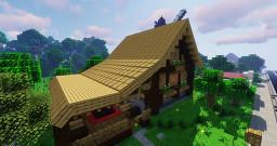 Macaw's Roofs (1.15.1, 1.14.4, 1.12.2) Minecraft Mod
