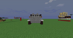 Panzerkampfwagen VI Tiger Ausf. E 2:1 Minecraft Map & Project