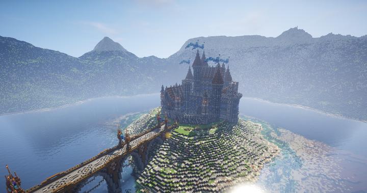 The whole castle